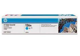 HP CE311A - HP126A 1000 stran modrý originální toner pro tiskárny HP Laserjet PRO 100 Color MFP M175A/ PRO 100 Color MFP M175NW/ Laserjet PRO CP1025/ CP1025NW