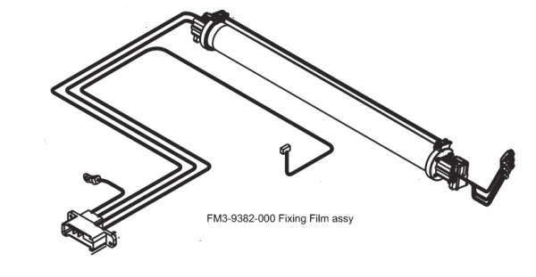 Náhradní díl Canon FM3-9382 Fixing Film Assy