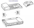 Náhradní díl HP Q3948-67905 ADF Hinge Kit Assembly