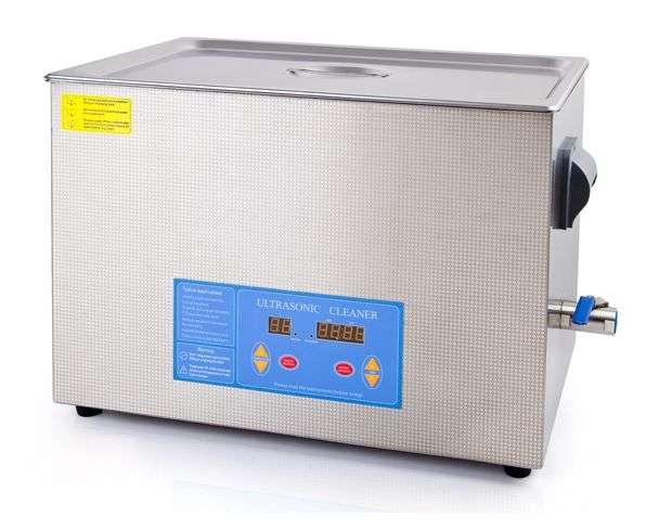 VGT ultrazvuková čistička VGT-2227QTD, objem nádrže 27l, výkon ultrazvuku 480W/42kHz, příkon topného tělesa 500W