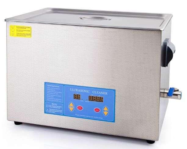 VGT ultrazvuková čistička VGT-2327FQTD-80, objem nádrže 27l, frekvence 80kHz, ultrazvukový výkon 600W, ohřev