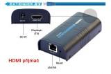 HDMI extender over lan Lenkeng LKV373-P příjmač