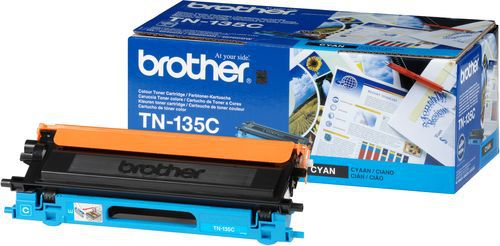 Originální toner Brother TN-135C modrý, 4000 stran