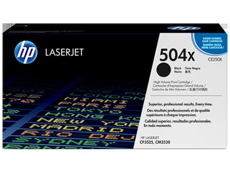 Originální toner HP CE250X, 504X černý, 10500 stran