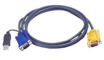 ATEN KVM sdružený kabel k CS-12xx, USB, 6m