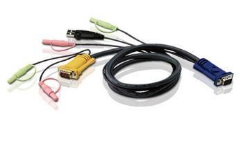 ATEN KVM sdružený kabel k CS-1732,1734,1758, USB, 5m