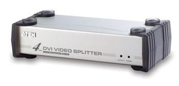 ATEN Video rozbočovač 1 PC - 4 DVI + audio