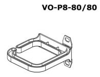 Zvětšit fotografii - CONTEG Vázací plastové oko 80x80 MM, vertikální