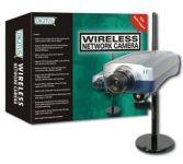 DIGITUS Wireless LAN Internet Camera, JPEG, RJ45 & 802.11GMax. 640 x 480, Frame Rate 3 - 30 fps 4I/O for Digital Alarm