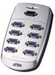 Zvětšit fotografii - ATEN Video rozbočovač 1PC - 8VGA 200Mhz