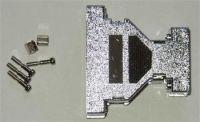 Kryt konektoru Canon25/9-metaliz.