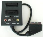 Zvětšit fotografii - PremiumCord Adapter SCART/M-2xSCART+3xCINCH+Switch IN/OUT