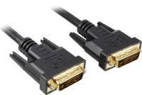 PremiumCord DVI-D propojovací kabel,dual-link,DVI(24+1),MM, 3m