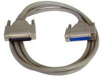 PremiumCord Kabel seriový k tiskárně 25F-25M 3m