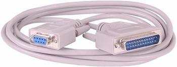 PremiumCord Kabel seriový k tiskárně 9F-25M 3m