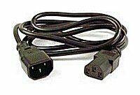 PremiumCord Prodlužovací kabel-síť 230V 1m