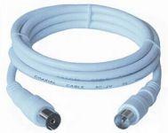 PremiumCord TV propojovací kabel M/F 75 Ohm 2m