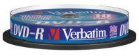 DVD-R 16x Verbatim AZO 4.7GB 10pack