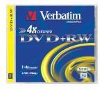 DVD+RW 4x Verbatim AZO 4.7GB 1ks