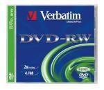 DVD-RW 4x Verbatim AZO 4.7GB 1ks