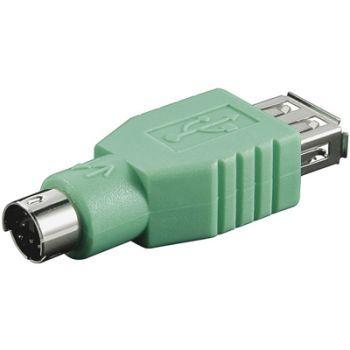 PremiumCord Redukce USB female - PS/2 male