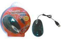 PremiumCord USB 2.0 Optická myš + čtečka karet