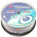 CD-R Verbatim  PRINT. spindl 52x/700MB 25-Pack