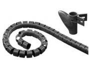 goobay Souprava na svazování kabelů černá