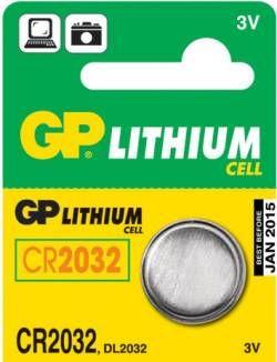 GP Lithiumcell CR2032 3V 1ks