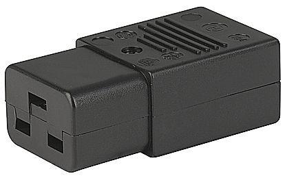 Konektor síťový 230V/F 16A C19, IEC60320 Noname