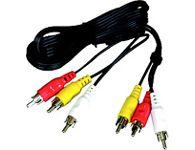PremiumCord Kabel 3x CINCH-3x CINCH M/M 5m