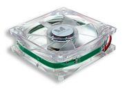Ventilátor do zdroje 80x80x25 červená