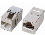 DIGITUS CAT 6 Modular Coupler, shieldedRJ45 to RJ45 For panel connection