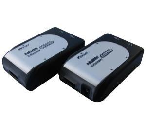 PremiumCord HDMI extender na 60m přes 2x Cat5e