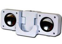 PremiumCord Přenosné repro pro mp3 přehrávač nebo mob. tel., stereo 2x1W, jack 3,5mm