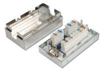 Zvětšit fotografii - PremiumCord Propojovací box pro kabely Cat.6, narážecí, stíněný