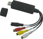 PremiumCord USB 2.0 Video/audio grabber pro zachytávání záznamu,30fps, vč. software