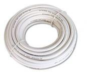 SAT kabel metráž, 100dB,6,8MM Coat, 1m ,PVC,bílá