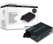 DIGITUS 10/100Base-TX to 100Base-FX Multimode Dual Fiber ST connector 2km