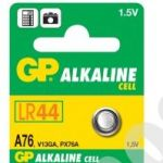 GP Alkaline Cell A76 LR44 1.5V typ: GPA76 , 1ks
