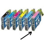ink-jet pro Epson Stylus Photo R265 photo magenta,kom.T080640 5,5ml