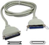PremiumCord Kabelová prodlužka pro printservery Cen36F-Cen36M  1.8m