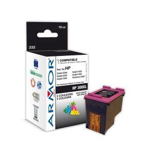 ARMOR ink-jet pro HP, komp.s CC644EE, 3 barvy, 18ml