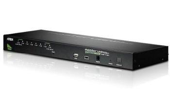 """ATEN 8-port KVM USB+PS/2 OSD, rack 19"""" CS-1708A"""