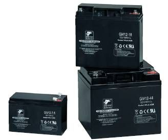 Banner olověná baterie GiV 06-4.5 baterie pro UPS, požární hlásiče, záložní světla 6V, 4.5Ah