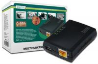 DIGITUS 1-Port USB 2.0 multifunkční síťový server/NAS