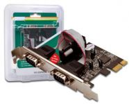 DIGITUS PCI Express karta 2xCOM RS-232 port, LP brackets (DS-30000-1)