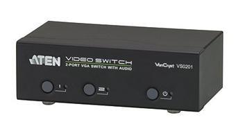 ATEN 2-port VGA Video/Audio elektronický přepínač