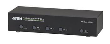 ATEN 4-port VGA Video/Audio elektronický přepínač