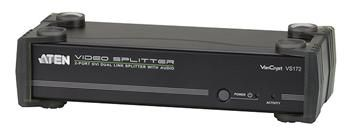 ATEN Video rozbočovač 1 PC - 2 DVI Dual Link + audio